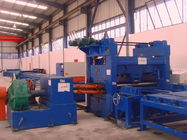 37kw scrape edge slitting and Taper Cutting Machine , cut to length line for light pole
