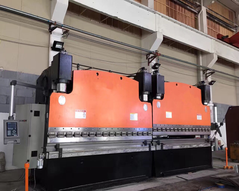 7.5kw 2500mm Multi-Axis CNC Hydraulic Press Brake 100t For Steel Tower / Truck Carriage